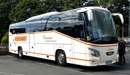 FXZ 8495 'Henshaws', Ironville, Derbyshire. VDL FHD2 Futura  on 'Dennis Basfords's railsroadsrunways.blogspot.co.uk'