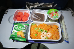 Inflight meal - China Eastern (HKG - PVG) B-6329 A321