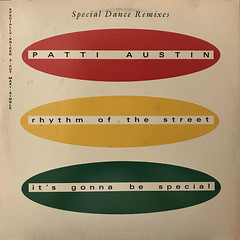 PATTI AUSTIN:RHYTHM OF THE STREET(JACKET A)