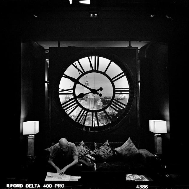 China Town Bangkok, Shanghai Mansion Reception Clock