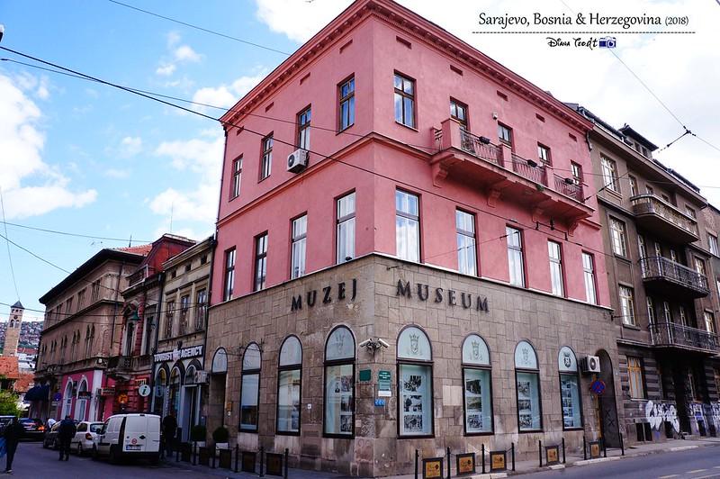 2018 Bosnia Sarajevo Latin Bridge Museum