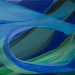 2015; Virginia Maitland; Rip Tide; Acrylic on canvas; 54x60 - Virginia Maitland: 1965-Present at the Arvada Center