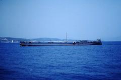 Coastal water tanker