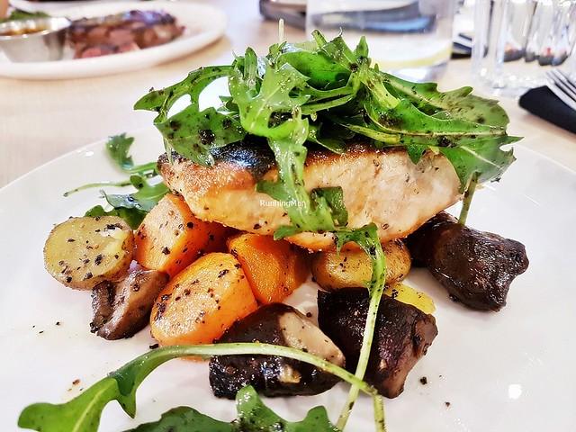 Pan-Grilled Salmon