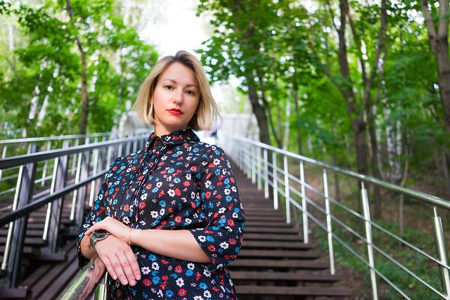 Beautiful lady Lena on the photoshoot