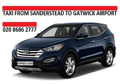 Taxi-Sanderstead-Gatwick-Airport