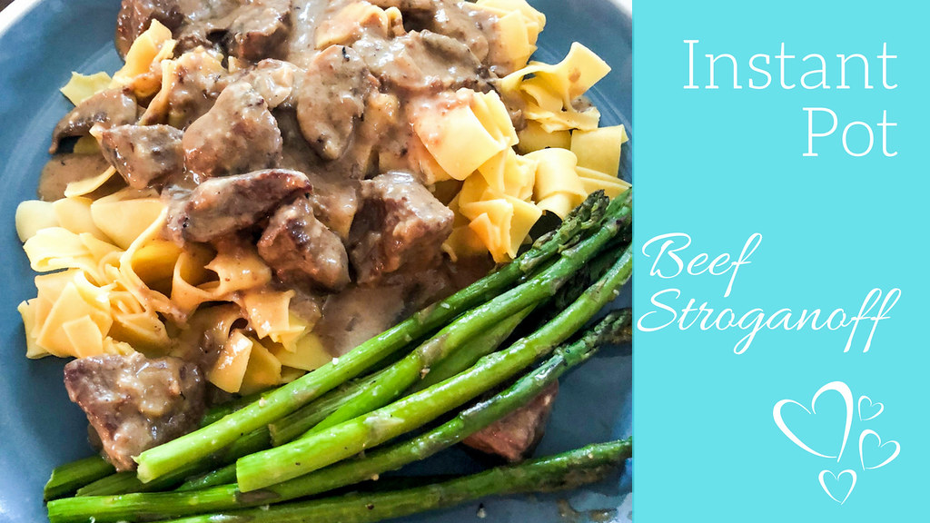 Instant Pot Beef Stroganoff Suzie The Foodie