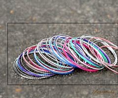 Multi-Coloured Bangles – Set