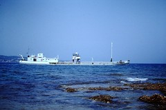 Coastal oil tanker