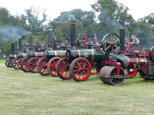 Steam engines at Stradbally