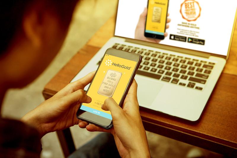 Simpan Duit RM1 Aplikasi HelloGold