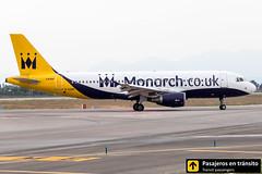 Airbus A320 Monarch G-OZBX