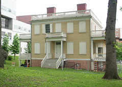 The Grange, Side View
