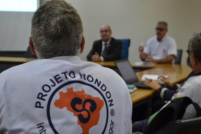 Projeto Rondon - Reunião com o reitor