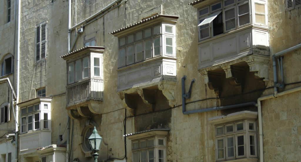 Bezienswaardigheden Malta, Valletta. De balkons van Valletta | Malta & Gozo