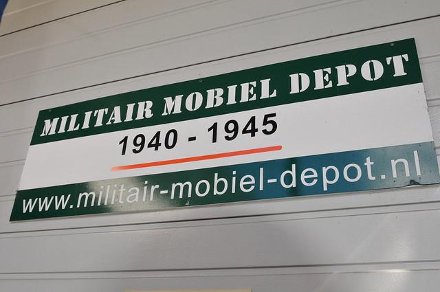 Bezoek Militair Mobiel Depot 11 augustus 2018