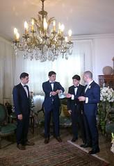 La loi du bleu-marine • François, Alexandre, Edgar et Nicolas