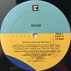 ROGER:I WANT TO BE YOUR MAN(LABEL SIDE-B)
