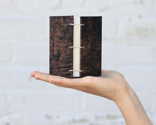 This mini is named 'Coffee Shot' mmmmm….  Artist Crystal Shaulis, Lake Michigan Book Press