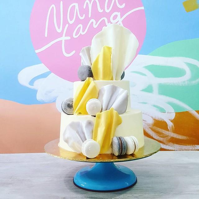 Cake by Serena Tang ofNanatang: Bake House and Studio