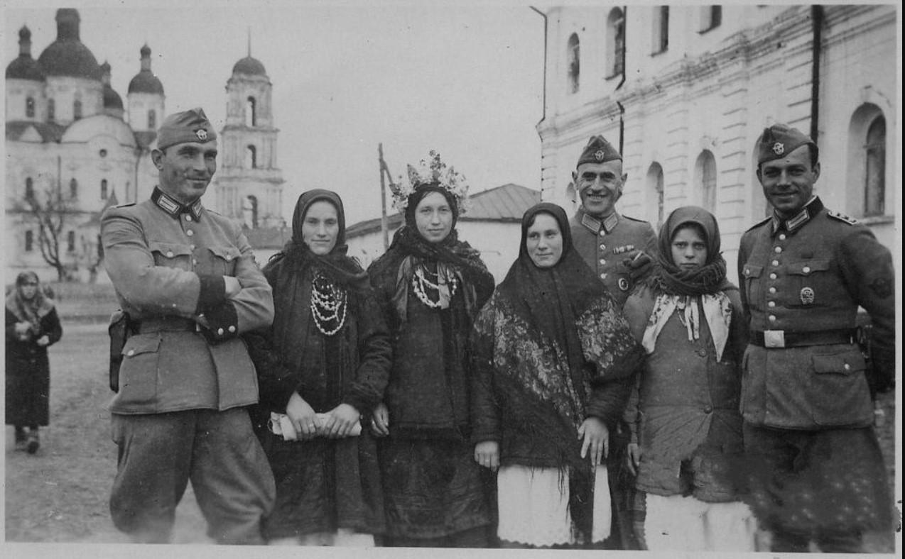1942. Жизнь под немцем. Козелец, Черниговской области