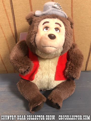2018 Tokyo Disneyland Vacation Jamboree Big Al Plush - Country Bear Collector Show #166