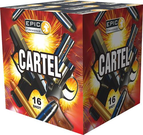 CARTEL 16 SHOT 1.3G BARRAGE #EpicFireworks