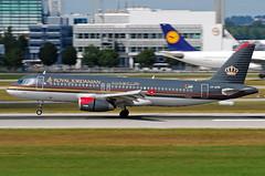 Royal Jordanian Airbus A320 JY-AYR
