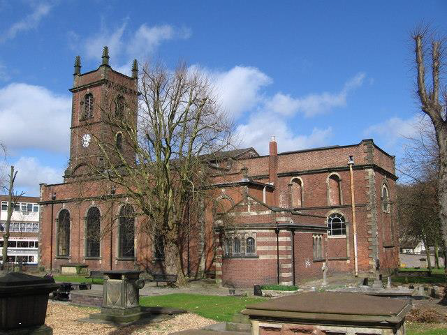 DUDLEY, St Edmund King and Martyr Exterior