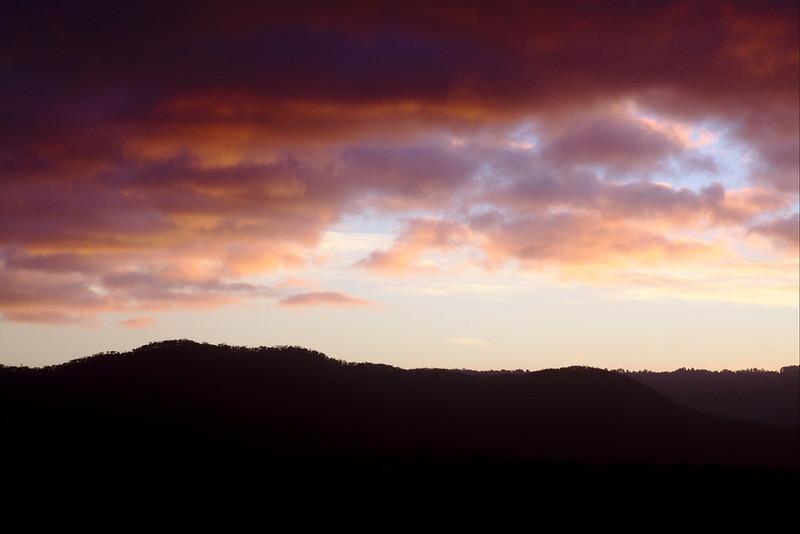 Clouds at dawn, Kanimbla Valley