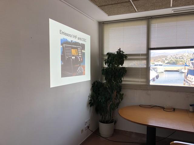 20180809 C.N. Llançà - Capacitació nàutica - Comunicacions marítimes