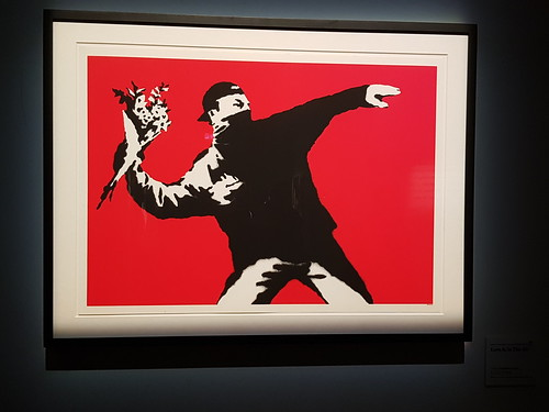 Art of Banksy exhibit