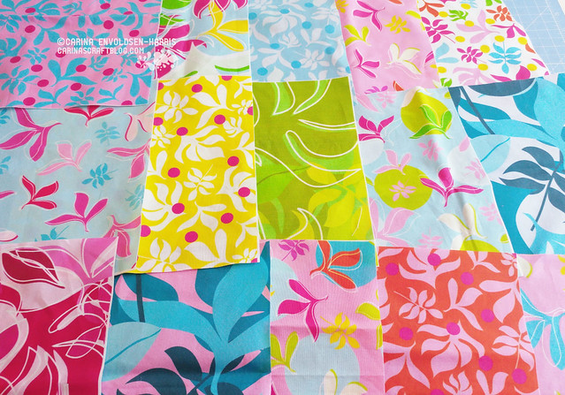 Tropical Leaves fabric swatches - Spoonflower designs
