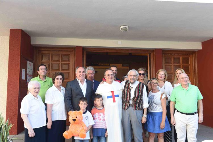 2-SAN JOSE ARTESANOS PARROQUIA TRINITARIOS EUCARISTIA DESPEDIDA AL SACERDOTE TRINITARIO LUIS MIGUEL ALAMINOS 1