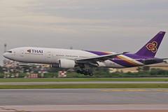 THAI AIRWAYS BOEING777-200ER HS-TJW