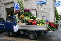 Flower Truck, Rome
