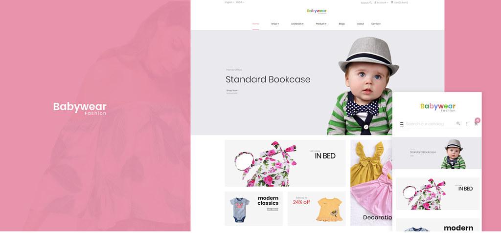 Leo babywear - kids fashion theme