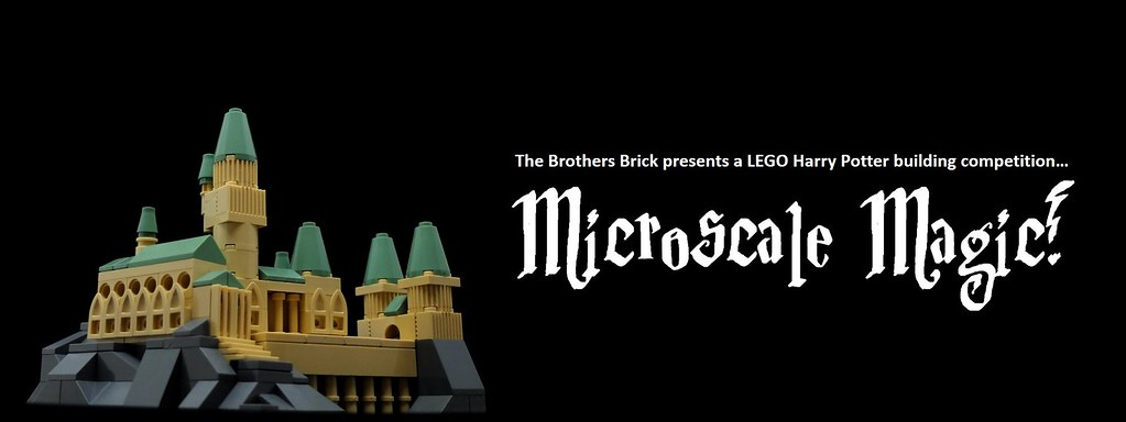 LEGO Harry Potter microscale building competition