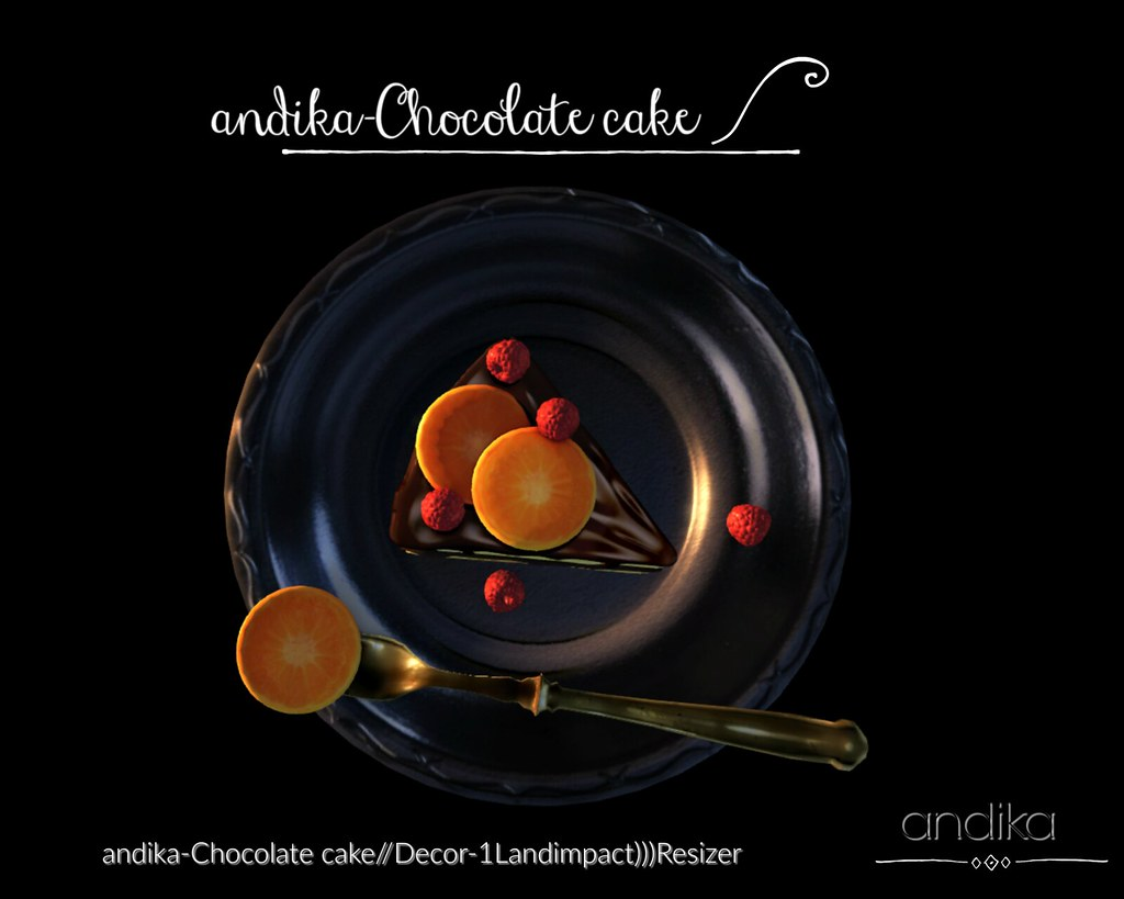 andika-Chocolate cake::Group Gift