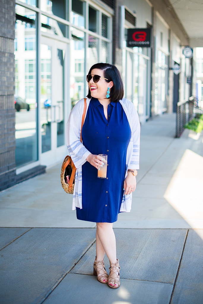 The Shirt Dress You Need in Your Closet-@headtotoechic-Head to Toe Chic
