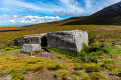 The Dwarfie Stane on The Island of Hoy