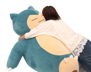 Stuffed Toy Super Big Size Snorlax Pokémon Center Exclusive