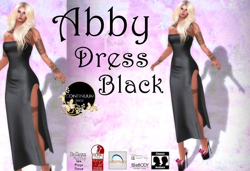 Continuum Abby Black : special 10 L$ ir for free you choose ! - TeleportHub.com Live!