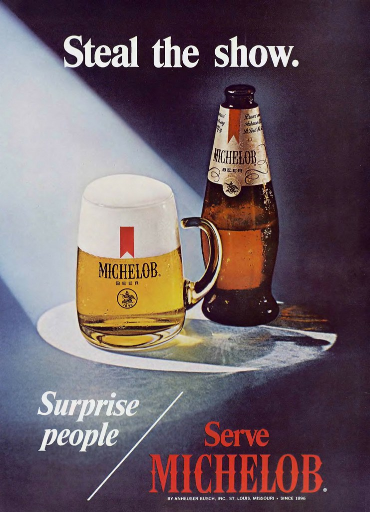 Michelob-1971-steal-the-show