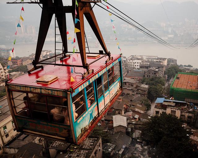 The Ropeway of Yangtze River, Chongqing-5098