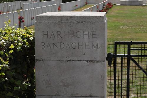 HARINGHE (BANDAGHEM) MILITARY CEMETERY.