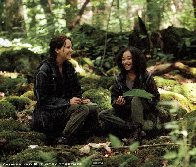 katniss-and-rue Amandla Stenberg