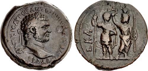 Very Rare Caracalla Drachm Ex Dattari Collection