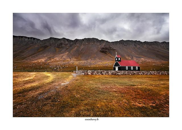 Rauðisandur Black Church.