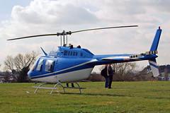 G-BSBW Bell 206B3 Jet Ranger III [3664] (Castle Air Ltd) Cheltenham Ra